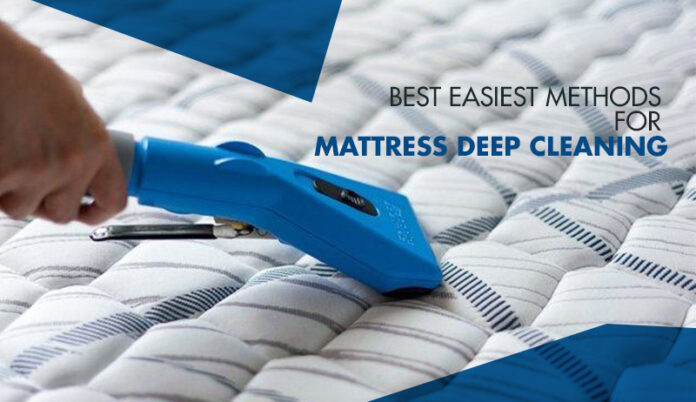 Best-Easiest-Methods-For -Mattress-Deep-Cleaning